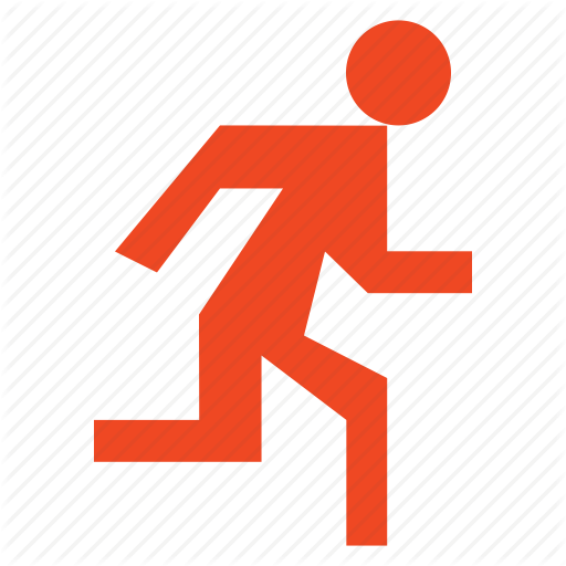 Human, Male, Man, People, Person, Run, Running, User Icon