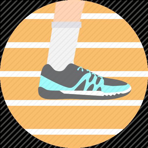 Athletics, Jogging, Olympics, Runner, Running, Shoe Icon