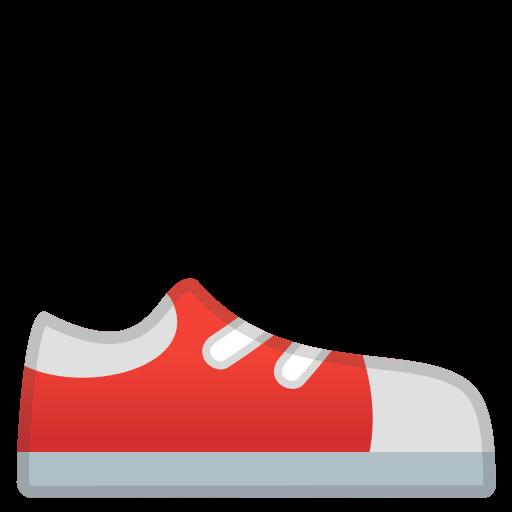 Running Shoe Icon Noto Emoji Clothing Objects Iconset Google