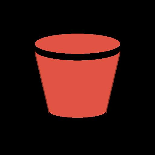 Amazon, Bucket, Content, Delivery, Storage Icon