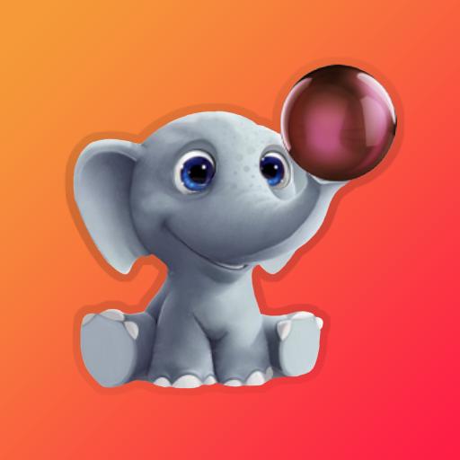 Cropped Icon Elephant Learning