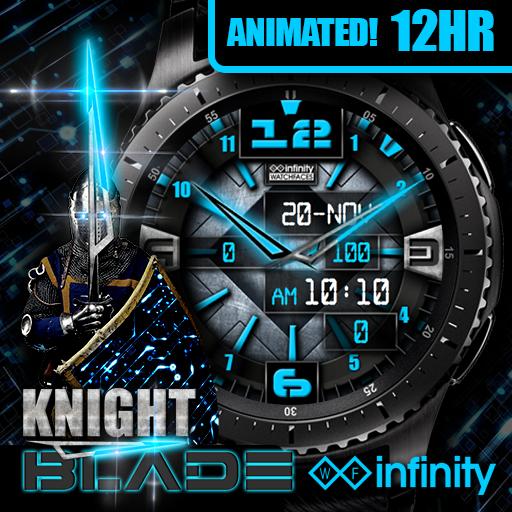 Icon Gear Watch Face Knight Blade Samsung