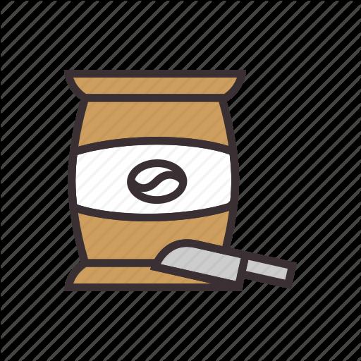 Beans, Coffee, Sack Icon
