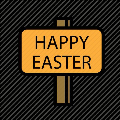 Crucifixion, Easter, Happy, Sacrifice Icon