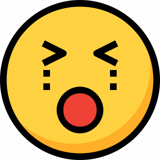 Cry, Emoji, Emotion, Face, Sad Icon