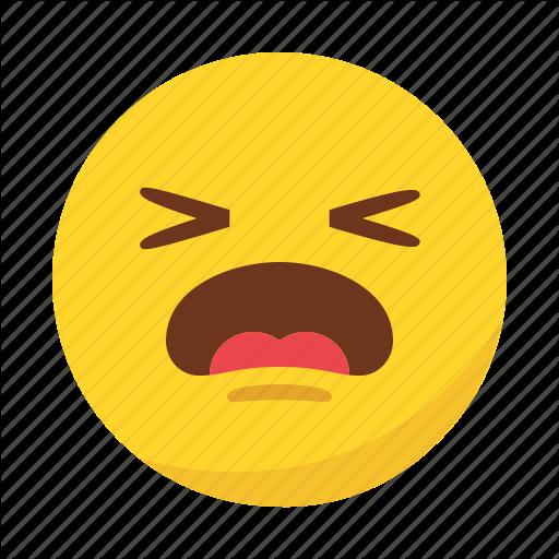 Emoji, Emoticon, Pain, Sad Icon