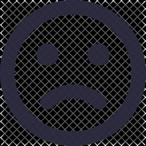 Sad Smiley Transparent Png Clipart Free Download