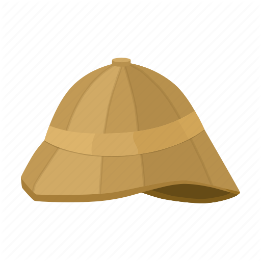 Bowler Hat, Headdress, Helmet, Military, Safari Icon