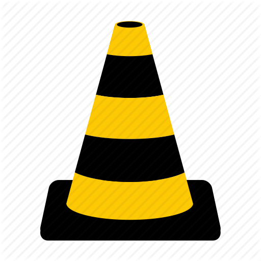 Cone, Road, Road Sign, Road Works, Sign, Traffic, Traffic Cone Icon