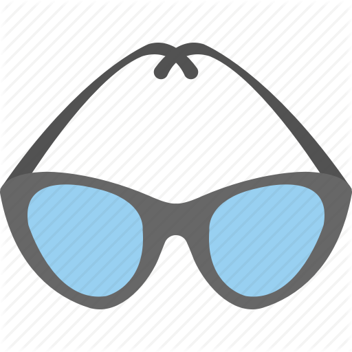 Eyeglasses, Glasses, Goggles, Safety Glasses, Swimming Goggles Icon