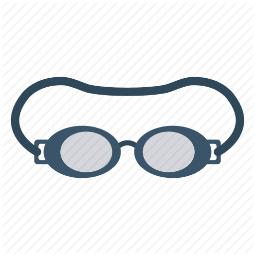 Eyewear, Glasses, Protection, Safety, Swimming Icon
