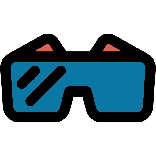 Safety Glasses, Protection, Tools And Utensils, Construction Icon
