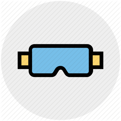Construction, Glasses, Ppe, Protect, Safety, Structure Icon