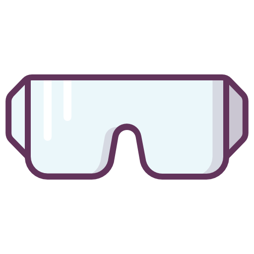 Construction, Protection, Goggles, Protective, Worker Icon Free