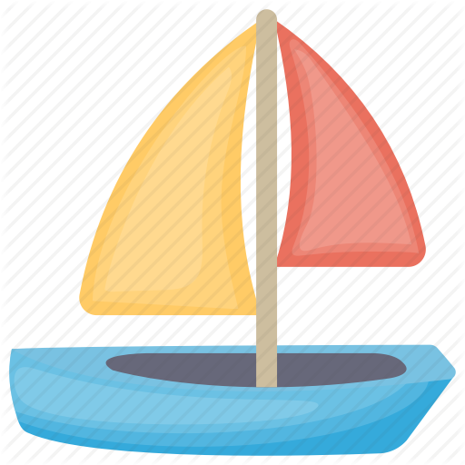 Boat, Kid Toy, Kids Sailboat, Toy Boat, Toy Sailboat Icon