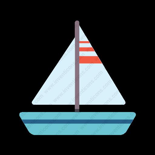 Download Sailboat Icon Inventicons