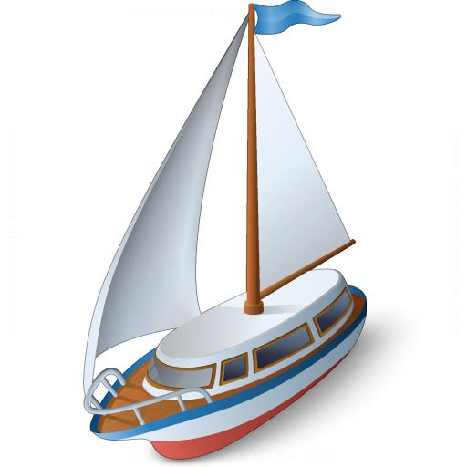 Iconexperience V Collection Sailboat Icon