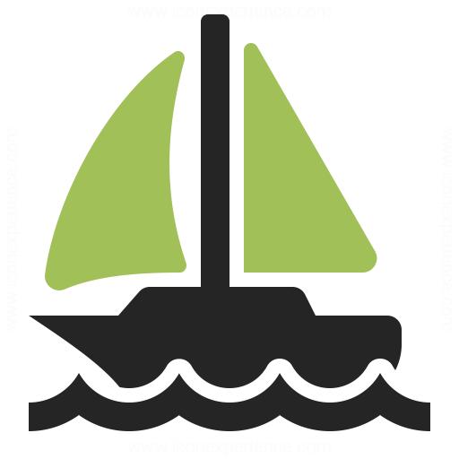 Sailboat Icon Iconexperience
