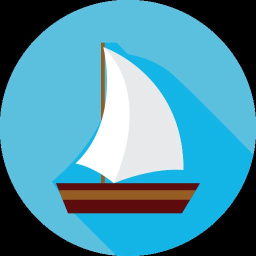Holidays, Sailboat, Boat Icon Free Of Summer Travel Flat