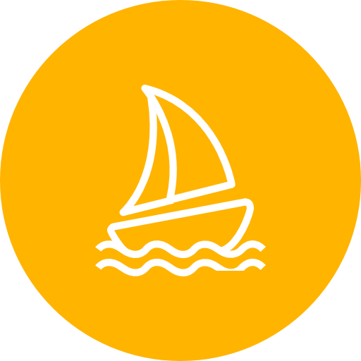 Sailing, Boat, Summer Icon Free Of Summer Line Icons Set