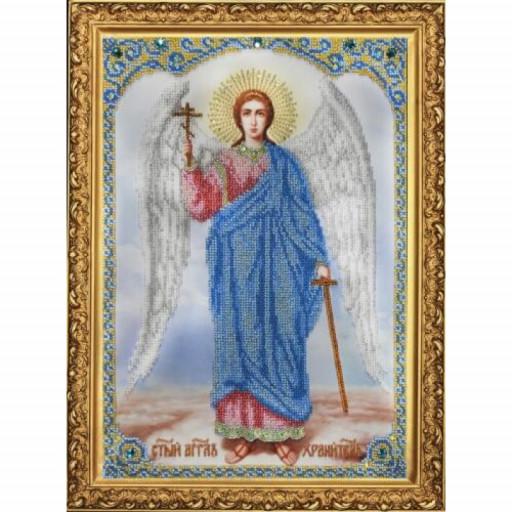 Orthodox Icon Guardian Angel Beaded Embroidery Kit Diy Mega