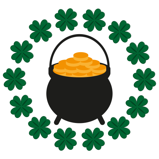 Gold, Happy, Hat, St, Saint, Patrick, Cllover Icon