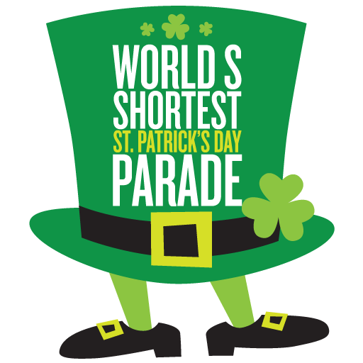News First Ever Annual World's Shortest St Patrick's Day