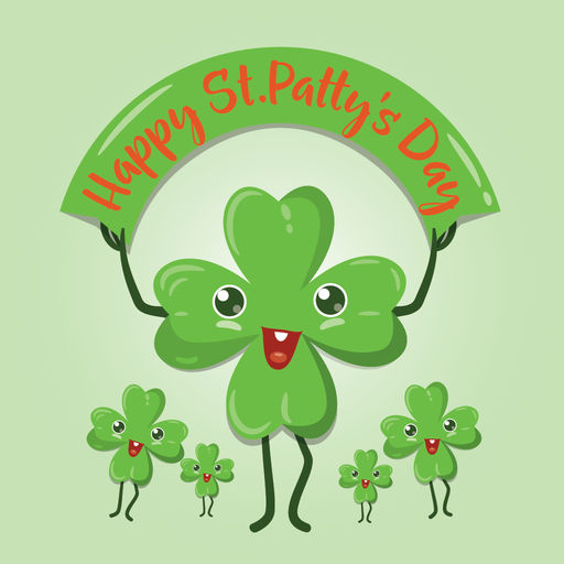 St Patrick's Day Greetings For Imessage Stickers