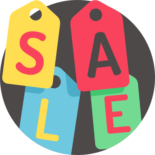 Sale Icon Black Friday Freepik