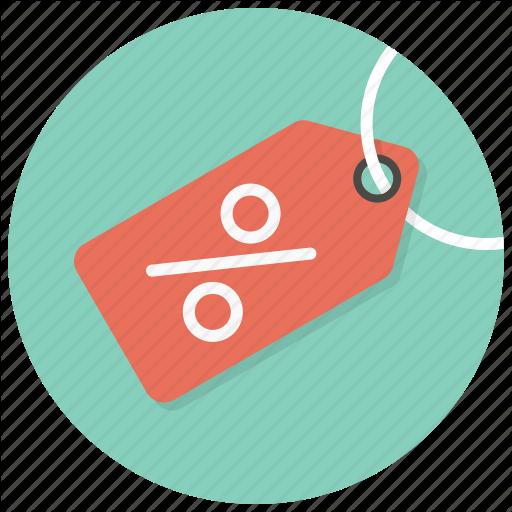 Percent Tag, Discount, Shop, Percent, Sale, Price Tag, Tag Icon