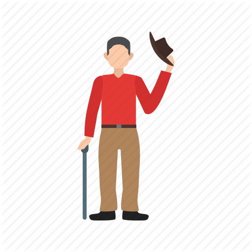 Business, Cool, Elegant, Man, Mobile, Salute, Travel Icon