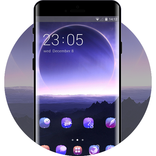Samsung Galaxy Free Android Theme U Launcher