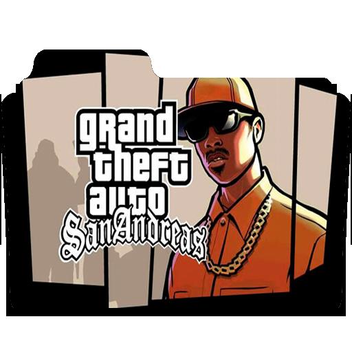 Grand Theft Auto San Andreas Folder Icon