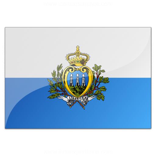 Iconexperience V Collection Flag San Marino Icon