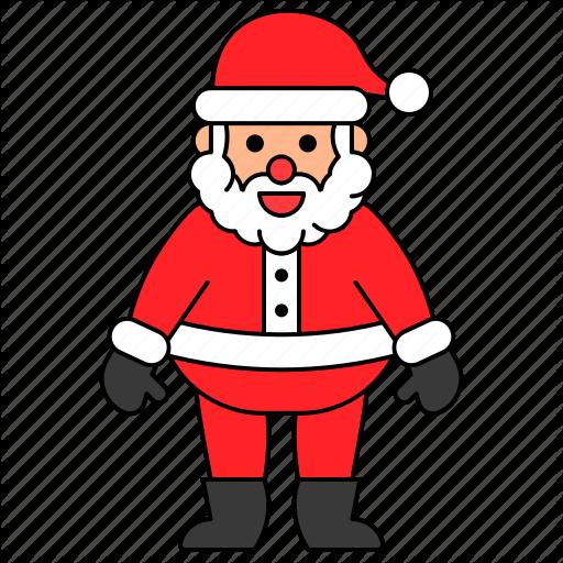 Avatar, Character, Christmas, Santa Claus, Xmas Icon