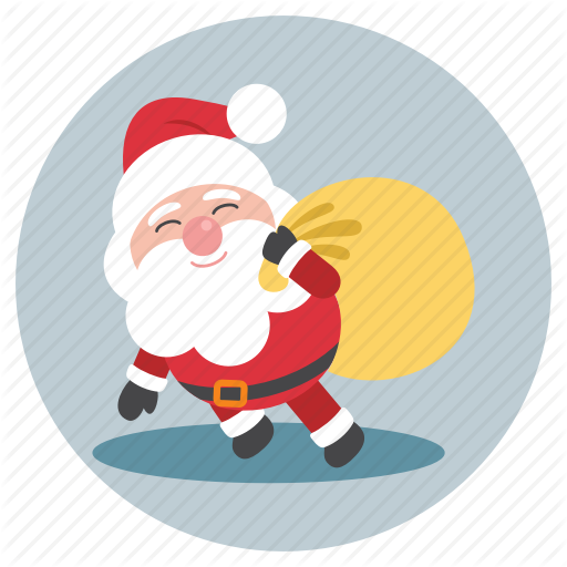 Birthday, Christmas, Santa, Santa Claus Icon