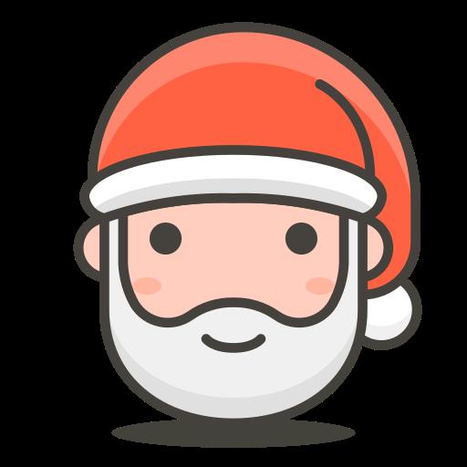 Santa, Claus Icon Free Of Free Vector Emoji