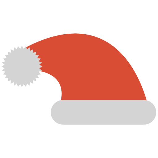 Santa Hat Icon Simple Christmas Iconset G Pritiranjan Das