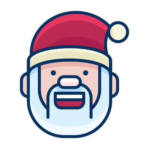 Santa, Hat Icon