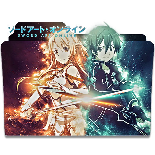 Sword Art Online Folder Icon