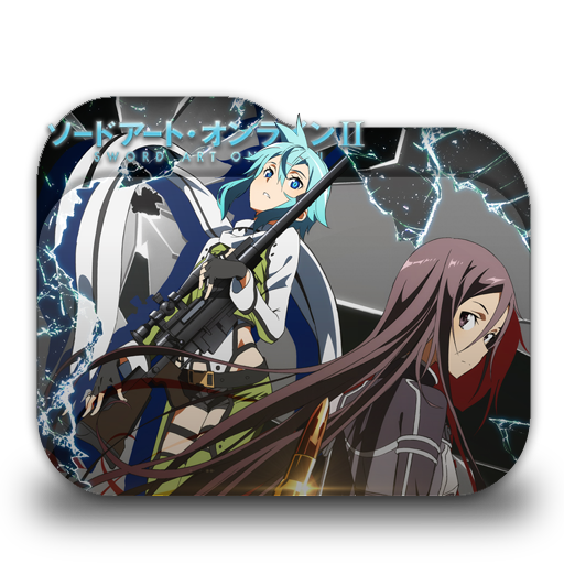 Sword Art Online Ii Folder Icon