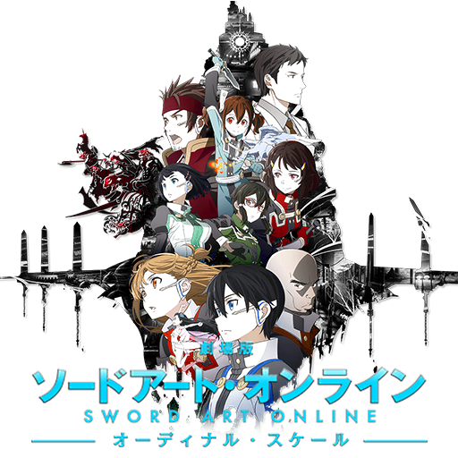 Sword Art Online Movie Ordinal Scale Anime Icon