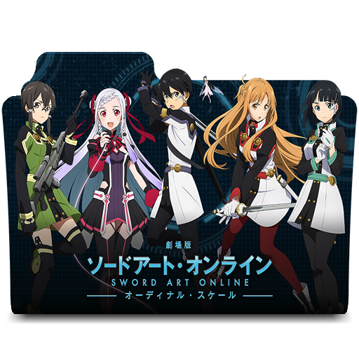 Sword Art Online Ordinal Scale Folder Icon