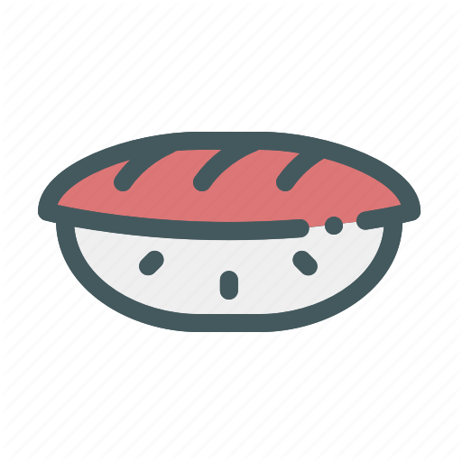 Fish, Food, Japanese, Rice, Sashimi Icon