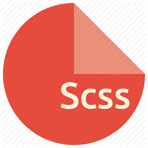 Css, Document, File, Format, Sass, Scss Icon