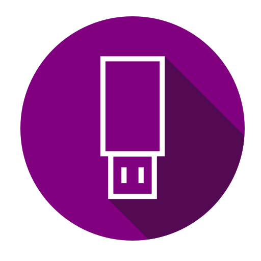 Data, Drive, Flash, Plug, Usb Icon