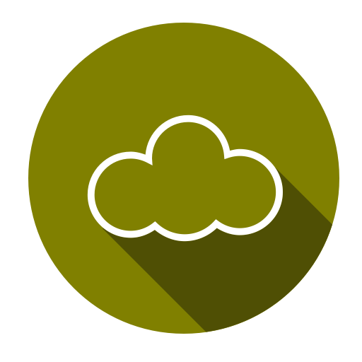 Download, Cloud, Sass, Computing Icon