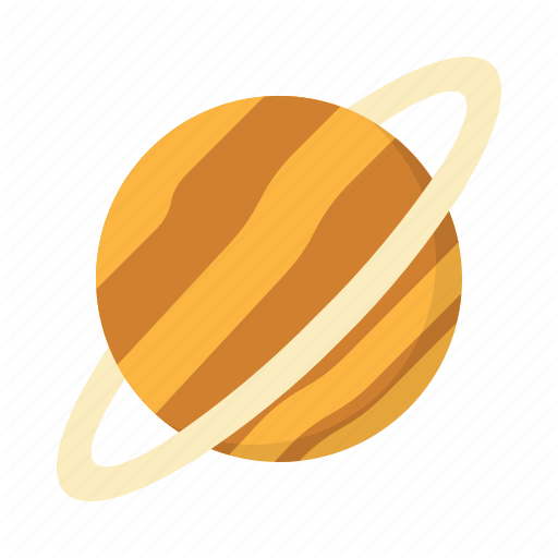 Earth, Global, Moon, Planet, Saturn Icon