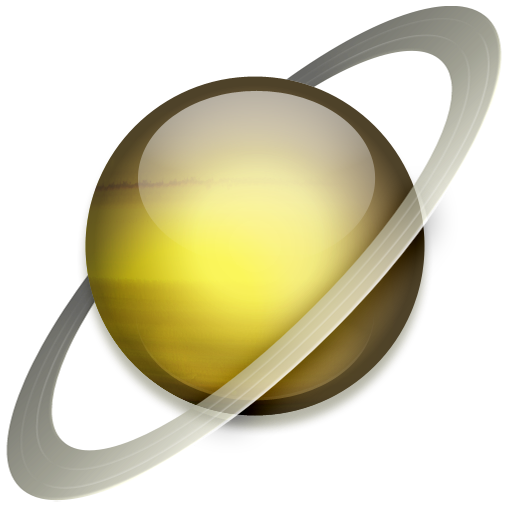 Saturn Icon Solar System Iconset Dan Wiersema