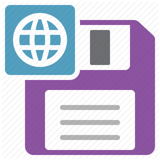 As, Document, File, Html, Save Icon